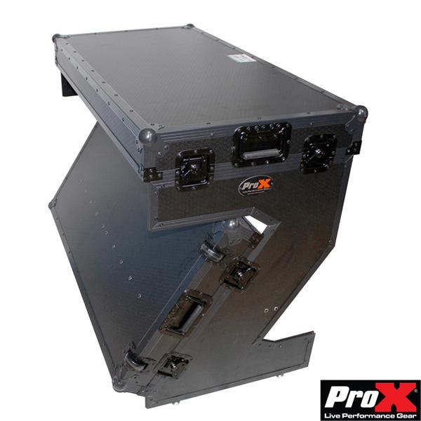ProX/ Portable Portable Z-Style Dj Table Table Flight Case フライトケース型で運搬しやすい Flight キャスター付きDJテーブル, LTD online:dca7f346 --- officewill.xsrv.jp