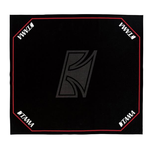 TAMA(タマ) / TDR-TL ドラムセッティングカーペット(ブラック ロゴ入り) - ドラムマット -, 2019年激安 b92a148c