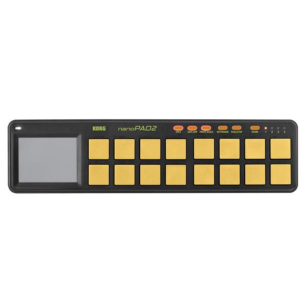 【緊急告知 12/19~26限定エントリ―P7倍】Korg(コルグ) / nanoPAD2-ORGR (オレンジ&グリーン/限定カラー) USB-MIDIコントローラー
