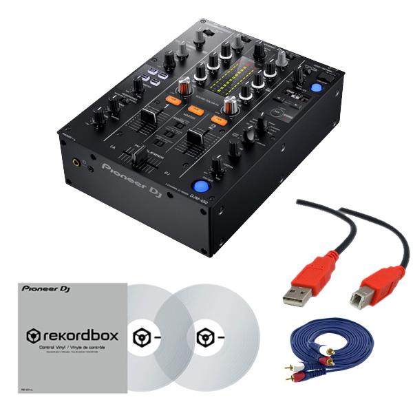 2大特典付 Pioneer(パイオニア) / DJM-450 &コントロールバイナル(RB-VD1-CL) DVS セット