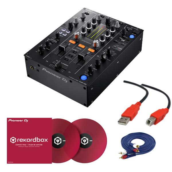 2大特典付 Pioneer(パイオニア) / DJM-450 &コントロールバイナル(RB-VD1-CR) DVS セット