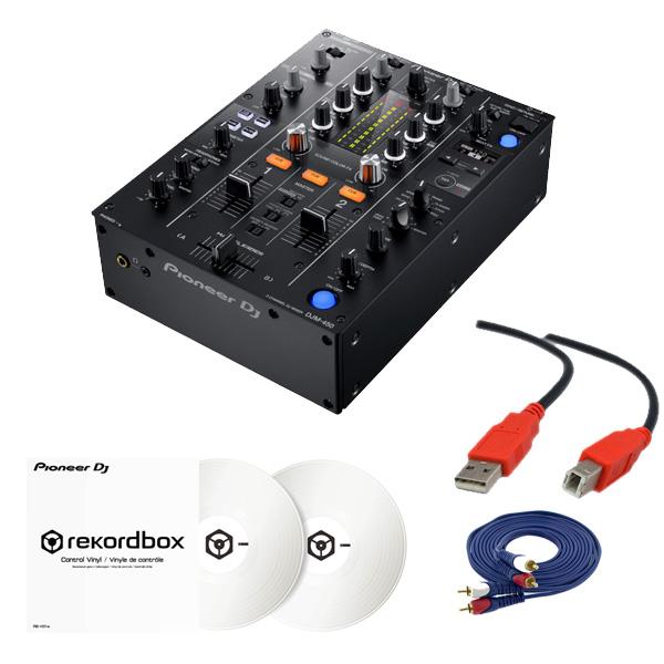 2大特典付 Pioneer(パイオニア) / DJM-450 &コントロールバイナル(RB-VD1-W) DVS セット