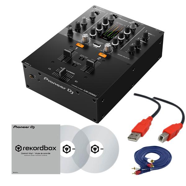 2大特典付 Pioneer DJ(パイオニア) / DJM-250MK2 & コントロールバイナル(クリアグレー)DVSセット