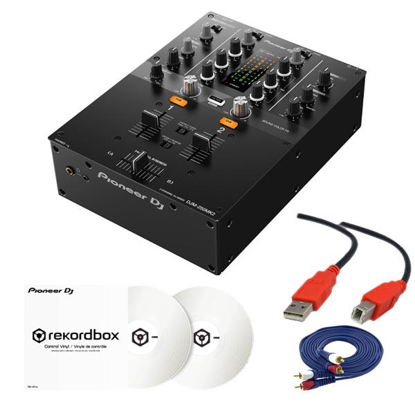 2大特典付 Pioneer DJ(パイオニア) / DJM-250MK2 & コントロールバイナル(ホワイト)DVSセット