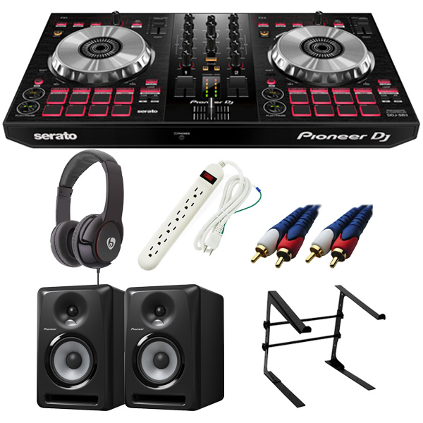 【14大特典付】 Pioneer / DDJ-SB3 【Serato DJ Lite無償】 S-DJ60X 激安初心者Cセット【次回8月下旬入荷予定】