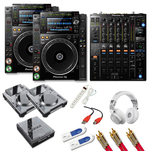 11大特典付 Pioneer(パイオニア) /CDJ-2000NXS2 / DJM-900NXS2 デッキセーバーセット