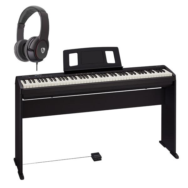 【純正スタンドセット】 Roland(ローランド) / FP-10-BK - Bluetooth対応 ポータブル・電子ピアノ - 【88鍵盤】