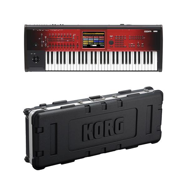 【ハードケースセット】 Korg(コルグ) / KRONOS Special Edition KRONOS2-61-SE (61鍵盤) - ミュージック・ワークステーション シンセサイザー -