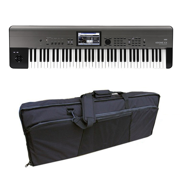 【3WAY撥水バッグセット】 Korg(コルグ) / KROME-73 EX ( 73鍵盤 ) - デジタルシンセサイザー -