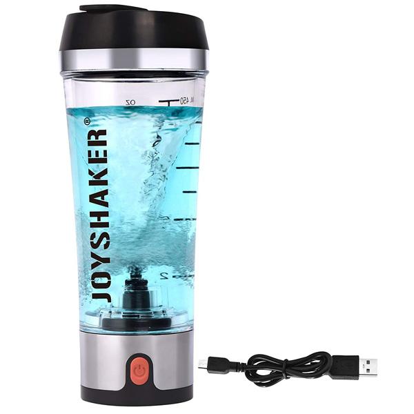 【緊急告知 12/19~26限定エントリ―P7倍】JOYSHAKER / Electronic Protein Shaker 電動 プロテインシェーカー 500mL USB充電式 直輸入品 【ジョイシェイカー】