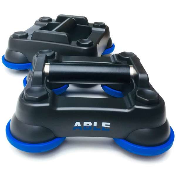 Fitness Hardware(フィットネスハードウェア) / ABLE(Blue) [スパイダーマッチョ] フリーフローティング・ローラー 腹筋ローラー 直輸入品