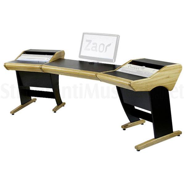Zaor(ザオール)/ ONDA Angled Oak DTMテーブル - DTMテーブル -/ 音楽スタジオデスク ONDA/ スタジオワークステーション - ※個別受注生産(納期:約4ヶ月) ※送料別途お見積もり, 宜野座村:28b687fd --- officewill.xsrv.jp