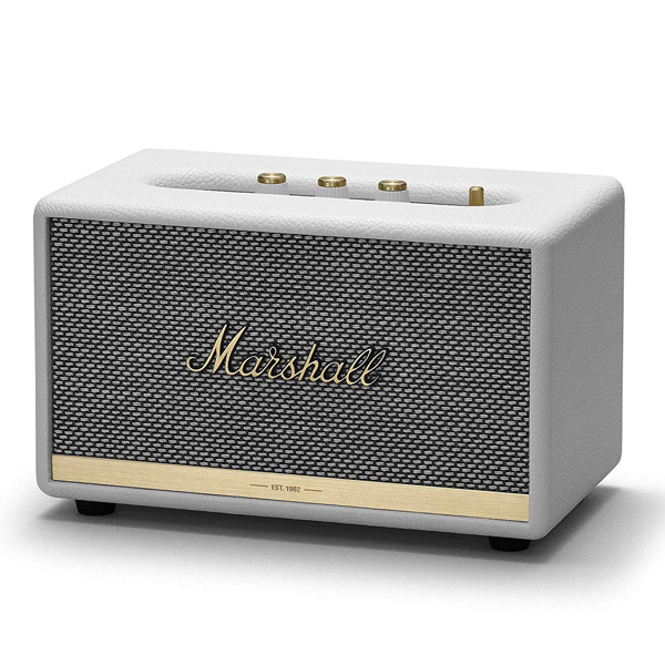 Marshall / ACTON II (WHITE) Bluetooth対応 ワイヤレススピーカー 【マーシャル】 直輸入品