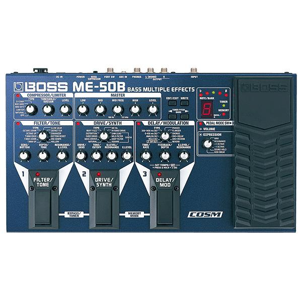 Boss(ボス) / ME-50B Bass Multiple Effects - マルチエフェクター - 《ベースエフェクター》
