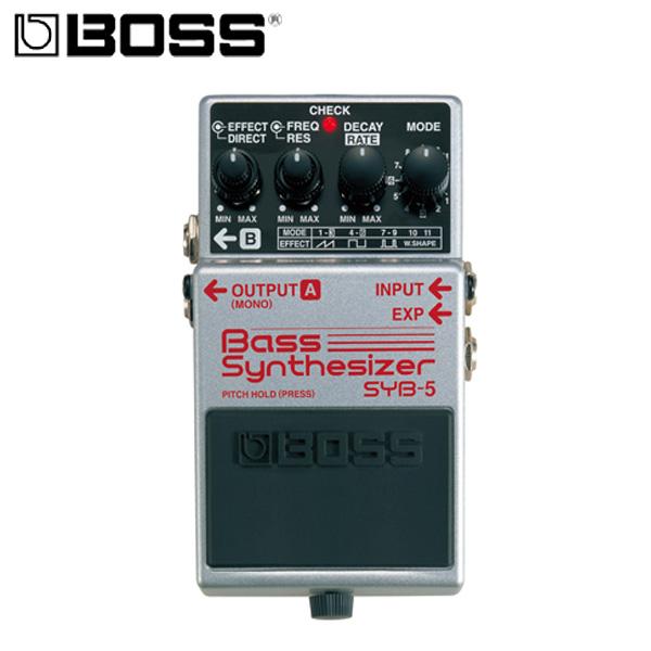 Boss(ボス) / Bass Synthesizer SYB-5 - ベース・シンセサイザー 《ベースエフェクター