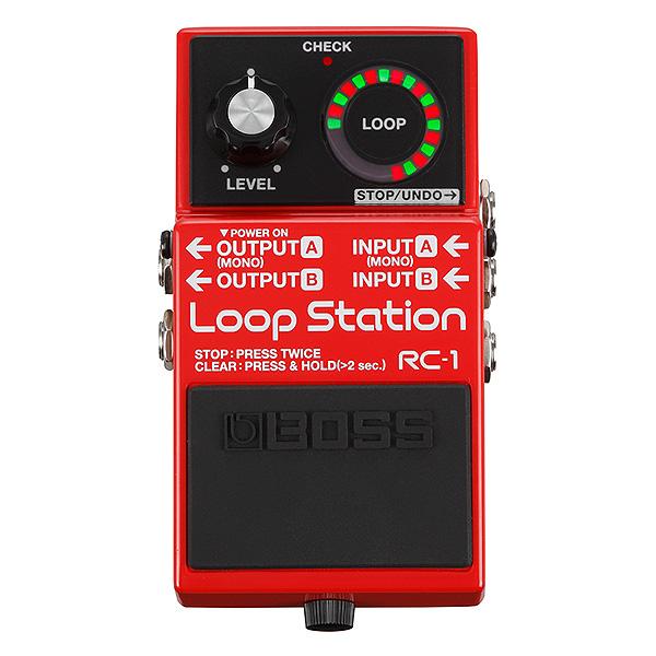 Boss(ボス) / RC-1 Loop Station - ルーパー - 《ギターエフェクター》