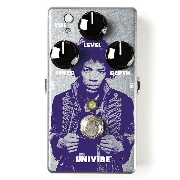 Jim Dunlop(ジム・ダンロップ) / JHM7 HENDRIX UNIVIBE [ジミヘン]- コーラス/ビブラート - 《ギターエフェクター》