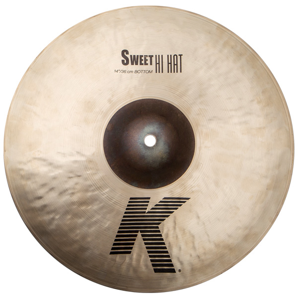 "Zildjian(ジルジャン) / ""K Sweet Collection"" Sweet HiHat 14″ K0722 (BOTTOM) [NIZL14SW.HHBM] ハイハット ボトム"