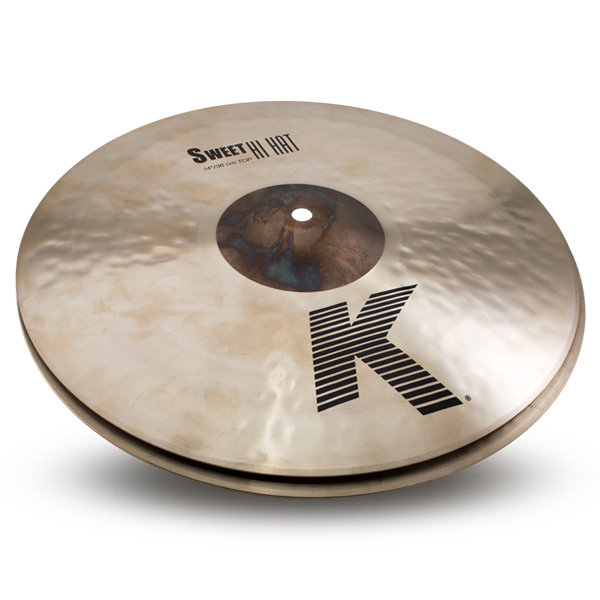 "Zildjian(ジルジャン) / ""K Sweet Collection"" Sweet HiHat 14″ K0721+K0722 (TOP&BOTTOM) [NKZL14SW.HHT_HHBM] ハイハット ボトム, ジーナスタイル 33c35004"