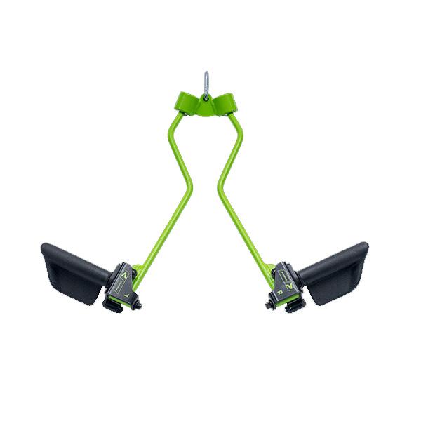 ケーブルトレーニング用アタッチメント Prime Fitness マーケティング USA プライムフィットネス PRIME 開店記念セール スプレッダーバー グリップ Bar Spreader RO-T8 Green