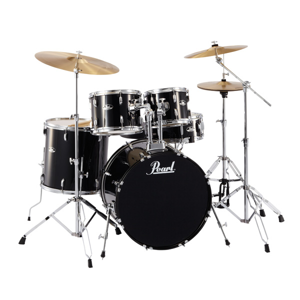 Pearl(パール)/ ROADSHOW RS525SCW -/C/ #31(ジェットブラック)【入門用 ROADSHOW エントリーモデル】- ドラムセット -, 楽譜 スコアオンライン:480ced57 --- officewill.xsrv.jp