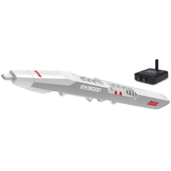 1大特典付 Akai / EWI5000 White ワイヤレス対応 ウインド・シンセサイザー 【アカイ】