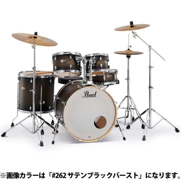 Pearl(パール) / Decade Maple [クラシックサテンアンバースト] 【DMP825S/C 225】 ドラム一式セット シンバル付フルセット