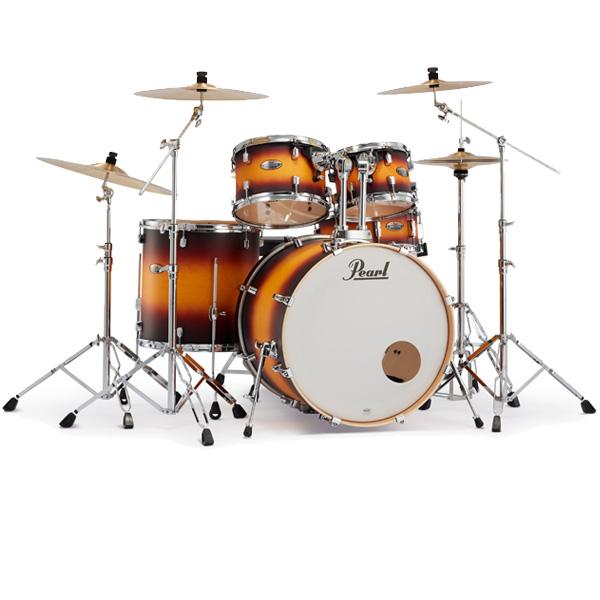 Pearl(パール) / Decade Maple [クラシックサテンアンバースト] 【DMP825S/C-2CS 225】 ドラム一式セット シンバル付フルセット 2クラッシュタイプ, ラウンド  ded230ba