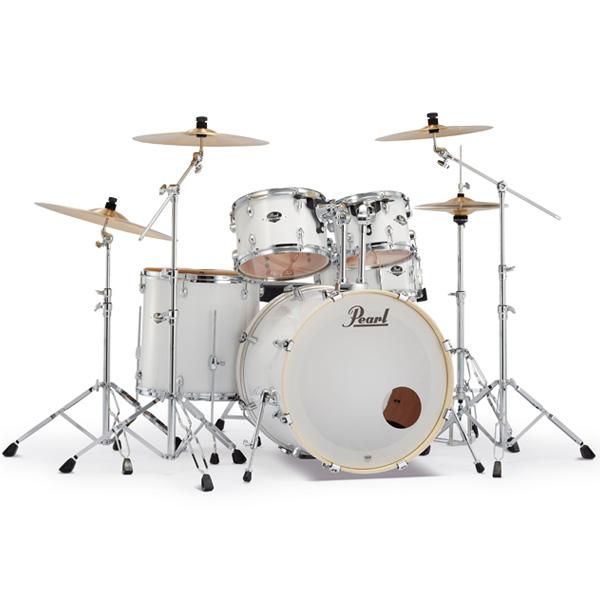Pearl(パール) / EXPORT EXX Covering 2クラッシュシンバルパック [ピュアホワイト] 【EXX725S/C-2CSN 33】 ドラム一式セット シンバル付フルセット, CHAIR OUTLET 72acedb9