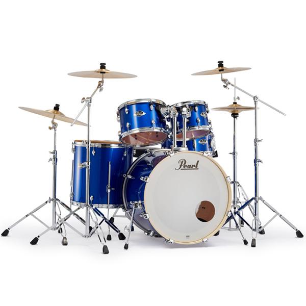 Pearl(パール) / EXPORT EXX Covering 2クラッシュシンバルパック [ハイボルテージブルー] 【EXX725S/C-2CSN 717】 ドラム一式セット シンバル付フルセット