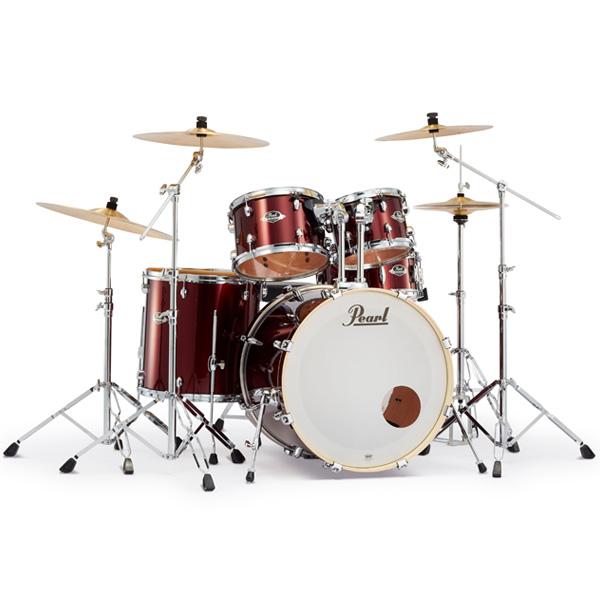 Pearl(パール) / EXPORT EXX Covering 2クラッシュシンバルパック [バーガンディ] 【EXX725S/C-2CSN 760】 ドラム一式セット シンバル付フルセット
