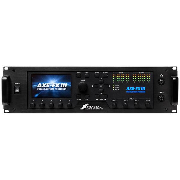 FRACTAL AUDIO SYSTEMS / Axe-Fx III アンプ・シミュレーター ギターエフェクター 【フラクタルオーディオシステム】