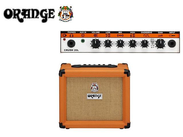 【1台在庫限り】 ORANGE(オレンジ) / Crush PiX CR20L CR-20L - ギターアンプ -