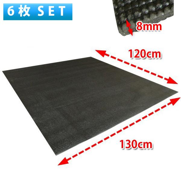 【6枚セット】Pro-group(プロ・グループ) / FDM-01 【ドラムマット】【サイズ:約130cm x 120cm x 0.8cm】