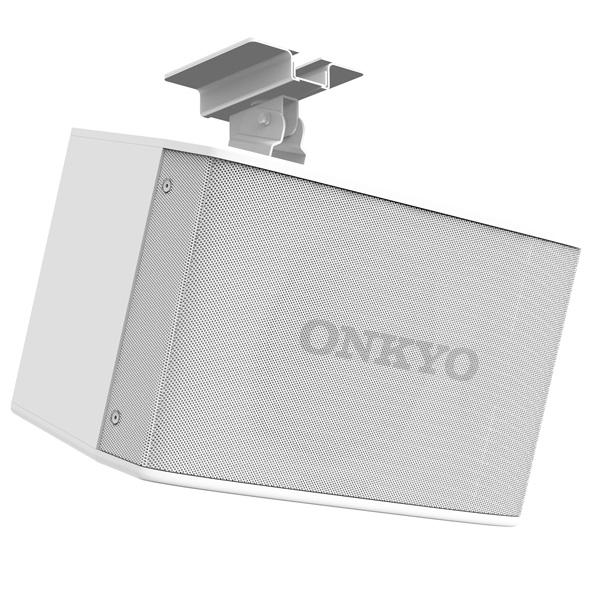 ONKYO(オンキヨー) / SMS6.3 (ホワイト / 1本) ハイ/ロー・インピーダンス兼用 店舗BGM用 業務用スピーカー