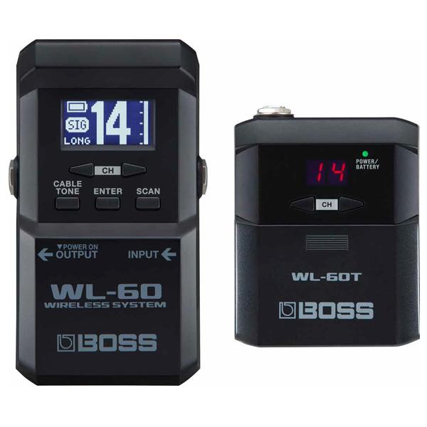 Boss(ボス) / WL-60 Wireless System ギター ベース ワイヤレス / 楽器ワイヤレス 【在庫あり・即納可能、次回納期未定】
