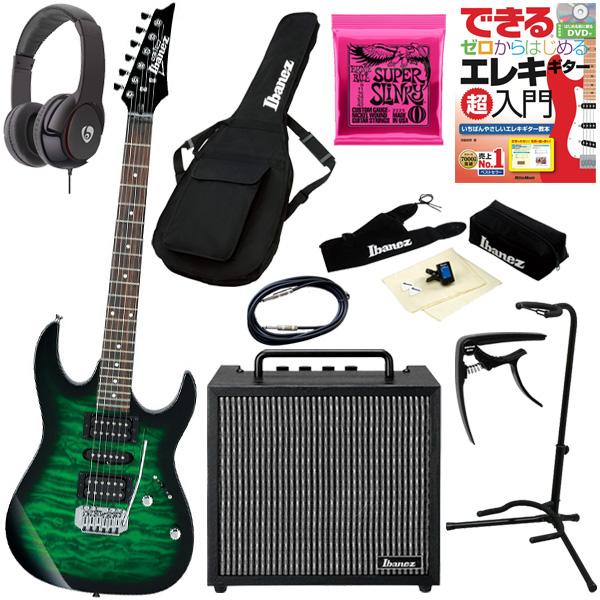 【初心者コンプリートセット】 Ibanez(アイバニーズ) / GRX70QA-TEB [GIO:Ibanez] - エレキギター コンボアンプセット - 【次回11月頃予定】