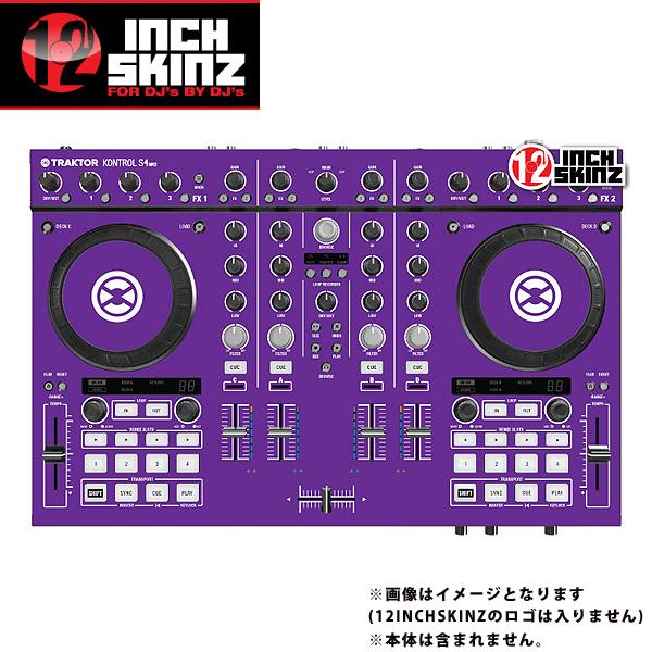 【緊急告知 12/19~26限定エントリ―P7倍】12inch SKINZ / Native Instruments Kontrol S4 MK2 Skinz (Purple) 【Kontrol S4 MK2 用スキン】