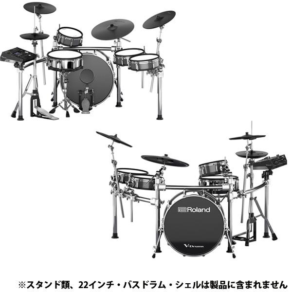 【Rolandキャッシュバック10,000円対象】Roland(ローランド) / TD-50KV with KD-A22 V-Drums Vドラム 電子ドラム