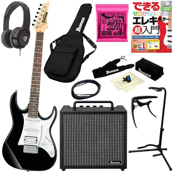 【初心者コンプリートセット】 Ibanez(アイバニーズ) / GRX40-BKN [GIO:Ibanez] - エレキギター コンボアンプセット -
