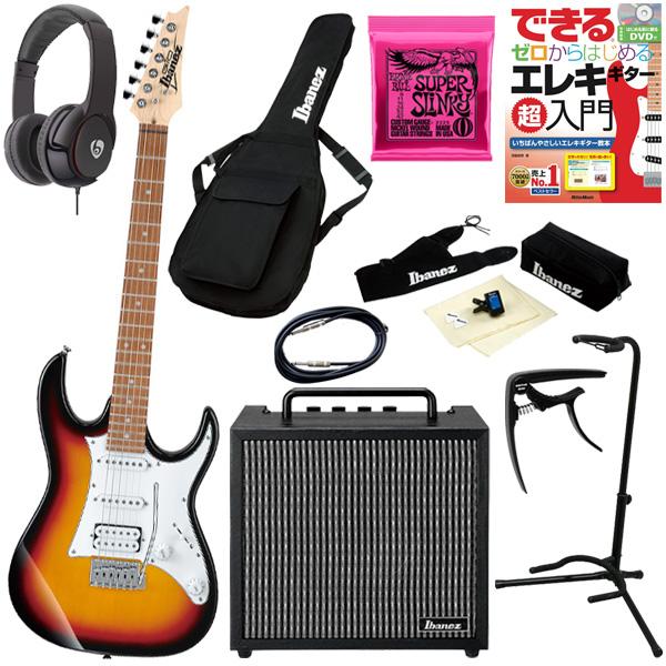 【初心者コンプリートセット】 Ibanez(アイバニーズ) / GRX40-TFB [GIO:Ibanez] - エレキギター コンボアンプセット -