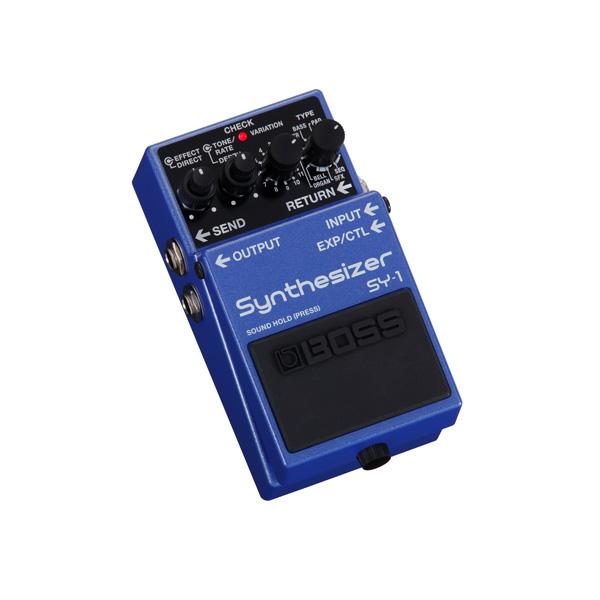 1大特典付 Boss(ボス) / SY-1 Synthesizer コンパクトペダルタイプ シンセサイザー 《ギターエフェクター》