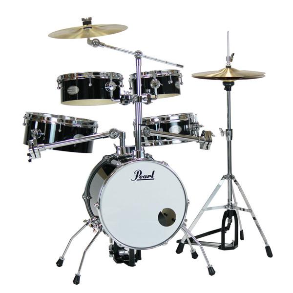Pearl(パール) / Rhythm Traveler Version 3S RT-645N/C Jet Black(ジェットブラック) リズムトラベラー -コンパクト ドラムセット -