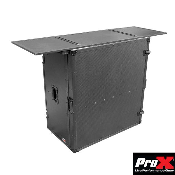 ProX / XS-DJSTNBL 折りたたみ式DJテーブル