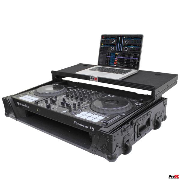 ProX / XS-DDJ1000 WLTBL 【Pioneer / DDJ-1000専用(スライド式PC棚付)】 フライトケース