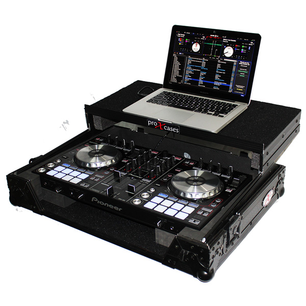 ProX / XS-DDJRR LTBL 【Pioneer / DDJ-SR2 / DDJ-RR専用(スライド式PC棚付)】 フライトケース