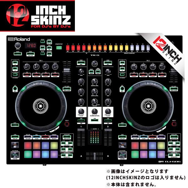【緊急告知 12/19~26限定エントリ―P7倍】12inch SKINZ / Roland DJ-505 Skinz (Black) 【Roland DJ-505 用スキン】