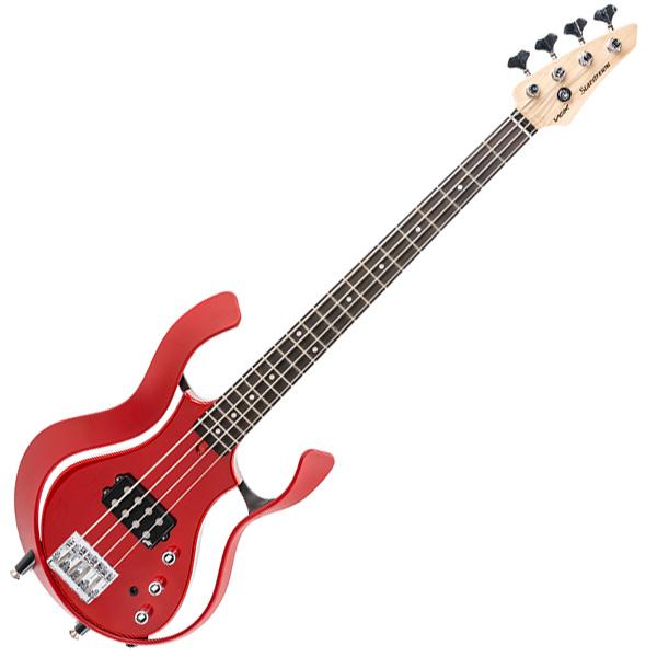 VOX(ヴォックス) / Starstream Active Bass 1H Artist Metalic Red(メタリックレッド) [VSBA-A1H-RDMR] - エレキベース - 【ギグバッグ付属】