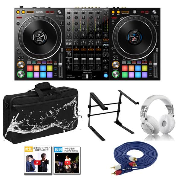 14大特典付 Pioneer(パイオニア) / DDJ-1000SRT 激安プロ向けモバイルCセット 【Serato DJ Pro 無償】
