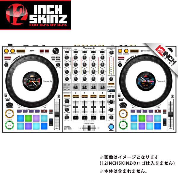 12inch SKINZ / Pioneer DDJ-1000SRT SKINZ (White/Black) 【DDJ-1000SRT用スキン】